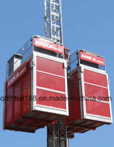 CE Approved Anka Personnel and Material Hoist pictures & photos