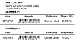 Bolt Cutter Adjustabel for DIY / Decoration 450mm pictures & photos