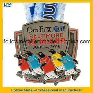 Custom Running Medal-- Souvenir Medal for Baltimore 10 Miler