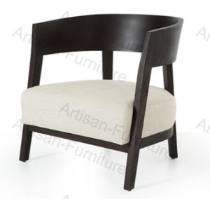 Wooden Single Armchair Sofa Chair for Hotel Restaurant Furniture (JP-C-028)