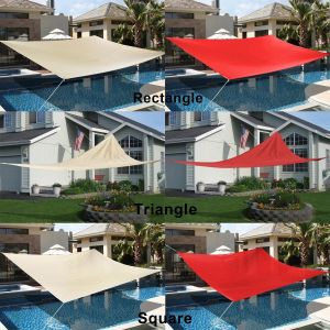 100% New HDPE Fabric Garden Sun Shade Sail for Different Shapes (Manufacturer) pictures & photos