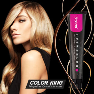 Top Quality OEM Private Label Low Ammonia Brizilian Shinny Permanent Hair Color pictures & photos