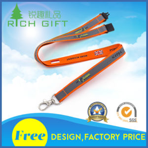 Promotional Custom Heat Tranfer Printing Lanyard with Logo pictures & photos