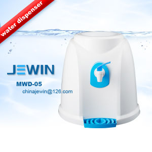 5 Gallon Plastic Manual Water Dispenser Without Power Electricity pictures & photos