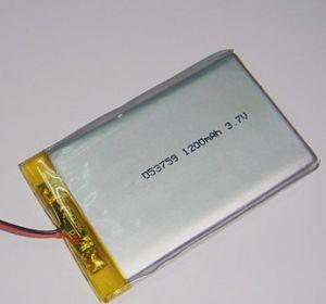 Best Quality Li-Polymer Li-ion Battery 3.7V 503759