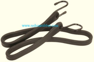 OEM Custom Flexible Adjustable Silicone Rubber Tie-Down Strap