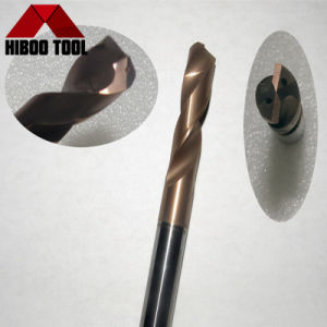 Hiboo Carbide 5D Coolant Hole Drills with Tisin Coating pictures & photos