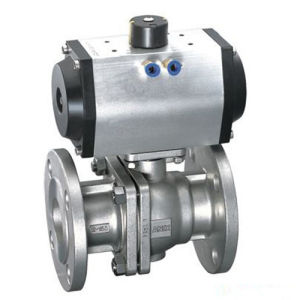 Stainless Steel Solenoid Engine PVC Ball Valve pictures & photos