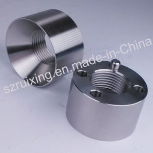 Industrial Parts for Aluminum Rotate Base CNC Machining Service pictures & photos