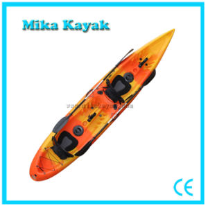 2 Person Transparent Kayak Fishing Boats Plastic Canoe pictures & photos