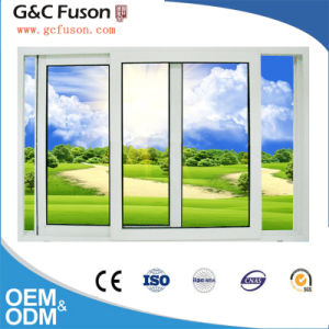 Aluminum Glass Window with Blinds Inside Designs for Guangzhou Door Factory pictures & photos