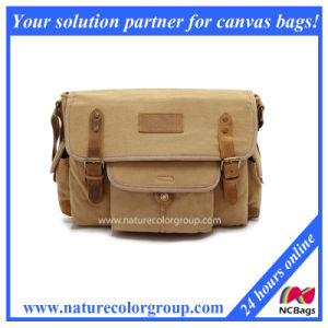 Leisure Hiking Messenger Men′s Canvas Shoulder Bags (MSB-020) pictures & photos