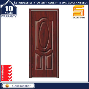 Latest Design Solid Wooden Double Entry Doors pictures & photos
