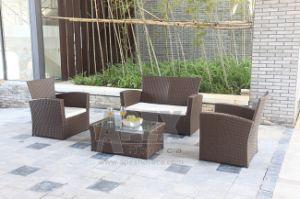 Hot Sell Wicker Sofa Outdoor Garden Furniture Rattan Patio Sofa pictures & photos