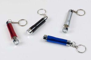 Promotional Flexible Aluminum Keychain LED Mini Flashlight pictures & photos