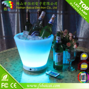 Light up Ice Bucket with Light Color Change Bcr-911b pictures & photos
