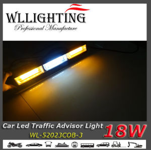 LED Bar Light with Arrow Warning with COB Chip Amber White pictures & photos