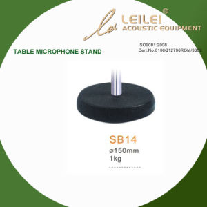 Ajustable Table Microphone Stand Base (SB14) pictures & photos