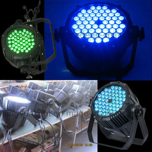 54X3w RGB 3in1 Outdoor Water Proof Stage Light LED PAR pictures & photos