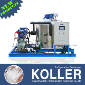 5000kg Dry and Clean Flake Ice Machine for Fishery pictures & photos