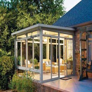 Laminated Glass Aluminum Sunshine Hut, Glass Aluminum Sunlight Room (TS-370) pictures & photos