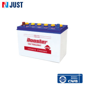 Car Starting Battery 12V75ah N70z pictures & photos
