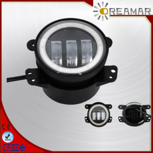 4.5 Inch Fog Light with Angel Eyes for Harley Motorcycle pictures & photos