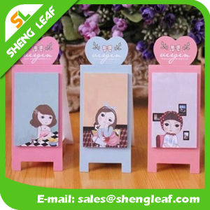 Removable Sticky Note with Logo Print and Different Shape (SLF-PI013) pictures & photos