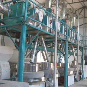 Stone Grain Flour Mill Machine, Flour Stone Mill Plant pictures & photos