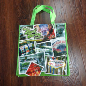 Eco-Friendly Non Woven Shopping Bag with Matt Lamination for Promation
