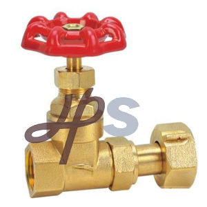 China Manufacture Brass Gate Valve for Water Meter pictures & photos