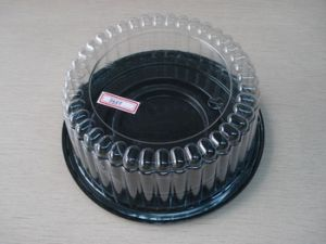 Transparent Plastic Cake Container