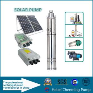Deep Well DC Electric Submersible Solar Water Pumps for Agricultural pictures & photos