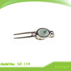 Magentic Golf Repair/Divot Tool with Custom Ball Marker