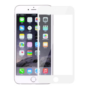 Full Cover White Screen Protector for iPhone 6 Plus