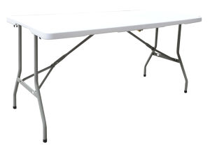 5FT Blow Molding Plastic Rectangle Folding Table, Garden Table, Camping Table pictures & photos