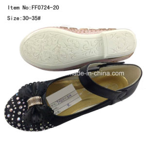 Hot Drilling Girl Flat Dance Shoes Princess Shoes (FF0724 -12) pictures & photos