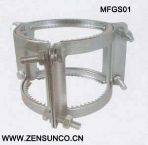 Grip Collar High Quality Galvanized Steel Hose Clamp pictures & photos