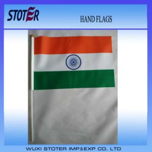 Hand Flags, Mini Paper Flags with Wooden Sticks, Double Sides Print Flag Sign pictures & photos