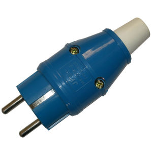 Plug with IEC60309 Standard (SCHUKO)