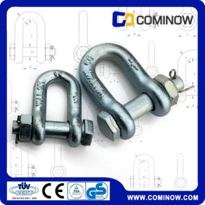 Us Type Drop Forged Carbon Steel Anchor Chain Shackle with Bolt and Nut G2150 pictures & photos