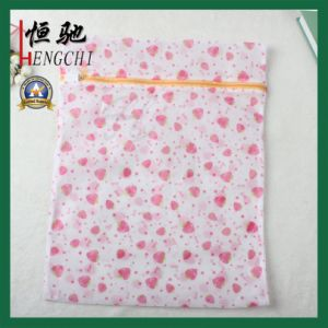 Strong Printed Zip Mesh Launsry Bag for Apparel pictures & photos