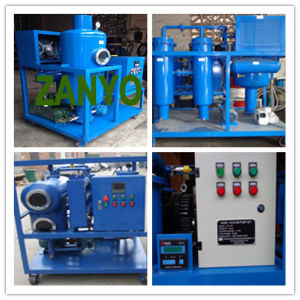 High Vacuum Gas Turbine Oil Filtration System pictures & photos