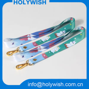 Wholesale Cheap Custom Sublimation Grosgrain Paracord Lanyard pictures & photos