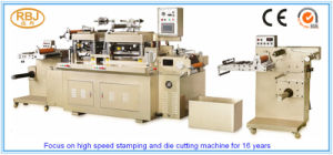Rbj-330 Automatic Flat Bed Adhesive Label Die Cutting Machine