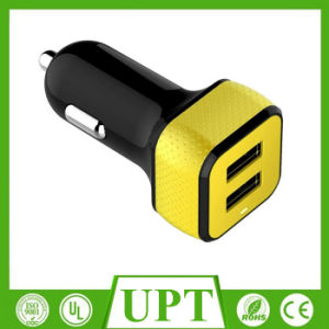 New Design Dual USB High Speed Car Charger with Ce, RoHS FCC pictures & photos