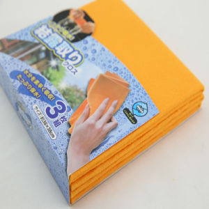 Reusable and Rewashable Non-Woven Fabric Cleaning Cloth, Needle Punched Cloth pictures & photos