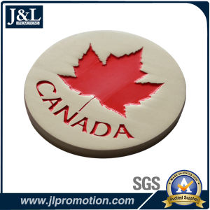 Die Casting Customer Design Metal Coin with Satin Nickel Plating pictures & photos