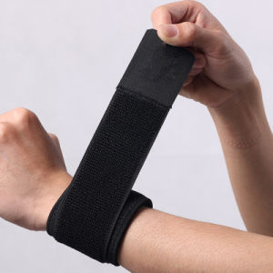 Black Pressurized Bracers/Elastic Armband, Smartphone Running Sports Armband, Exercise Smartphone Armband pictures & photos