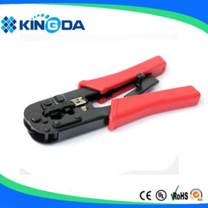 RJ45 RJ11 Crimping tool 8P8C with ratchet pictures & photos